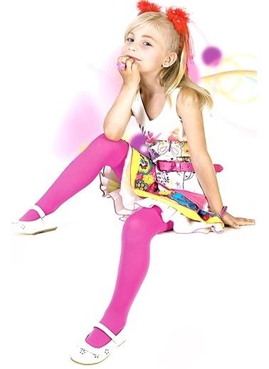 Pierre Cardin Kız Çocuk   Külotlu Çorap 230-000051 Bordo